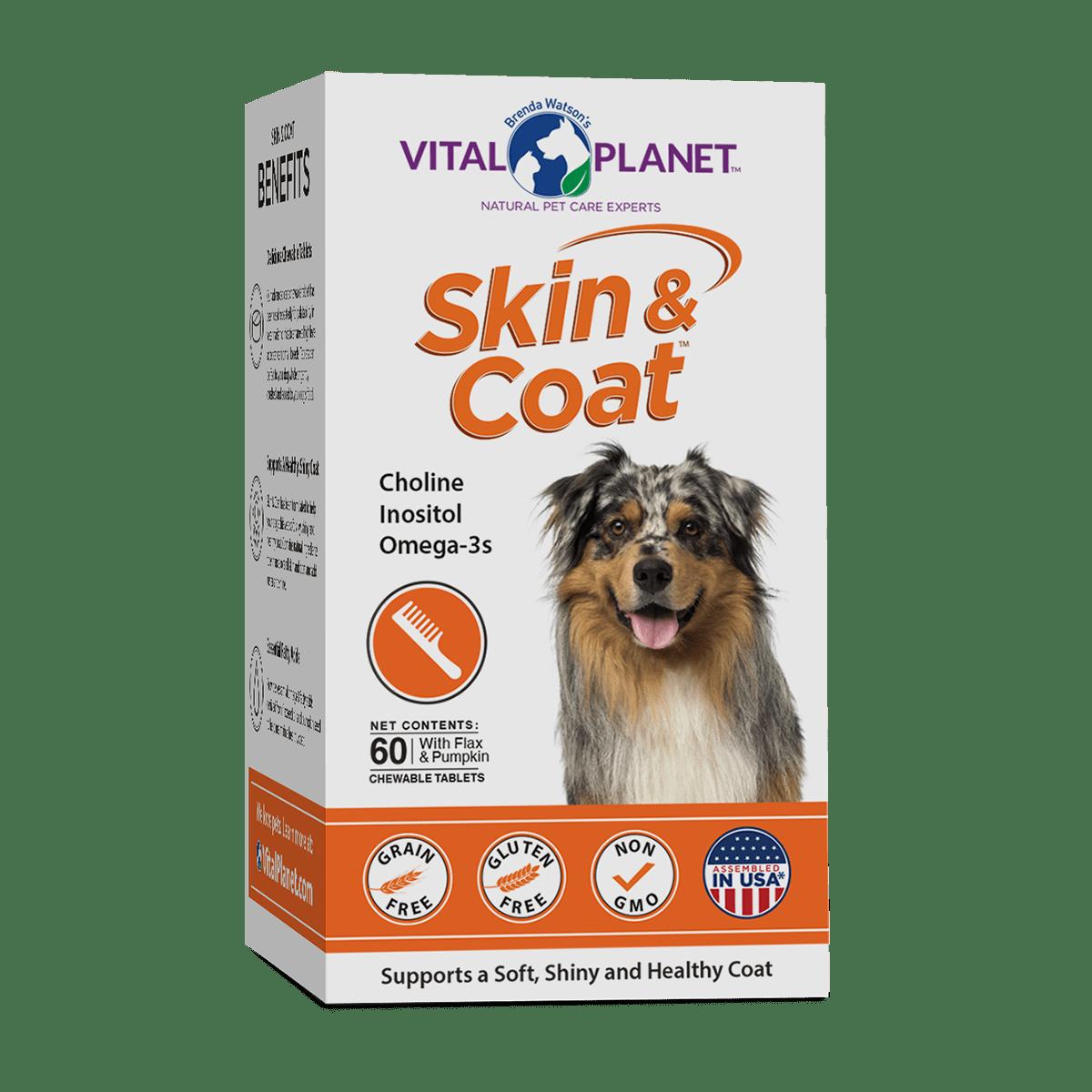 Skin and Coat Chew Tabs 60