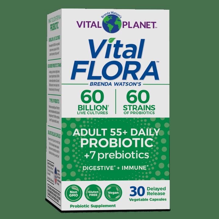 Vital Flora Adult 55 Front Panel