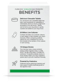 Flora Dog Tablets Benefits