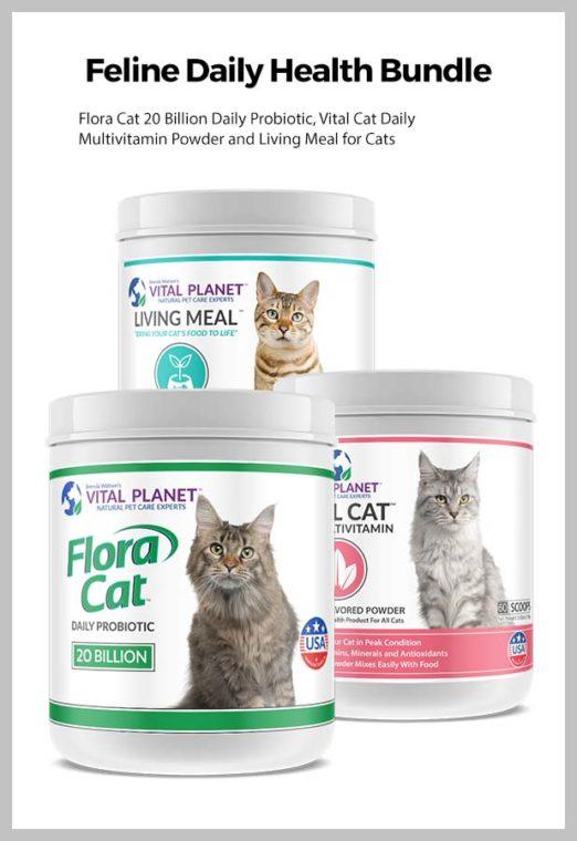 Vital Planet's Feline Daily Health Bundle