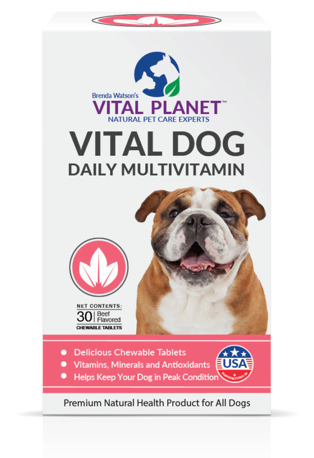 Vital Dog Daily Multivitamin Chewable Tablets
