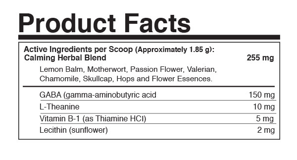 Calm Powder Product Facts