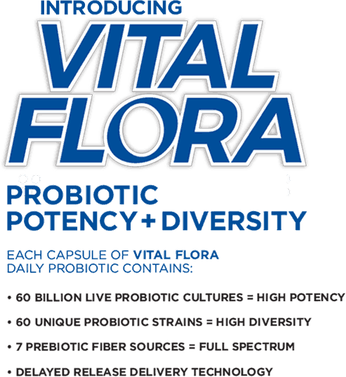 Introducing Vital Flora