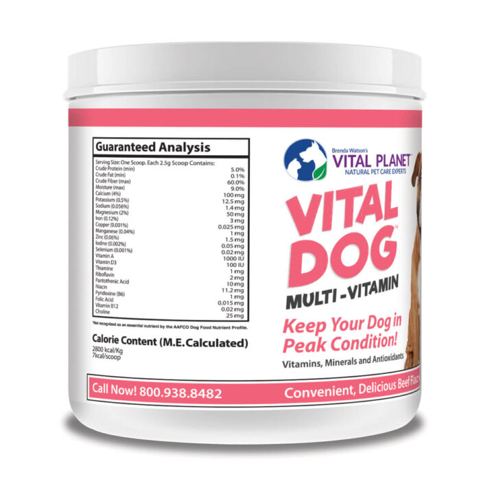 Vital Dog left label