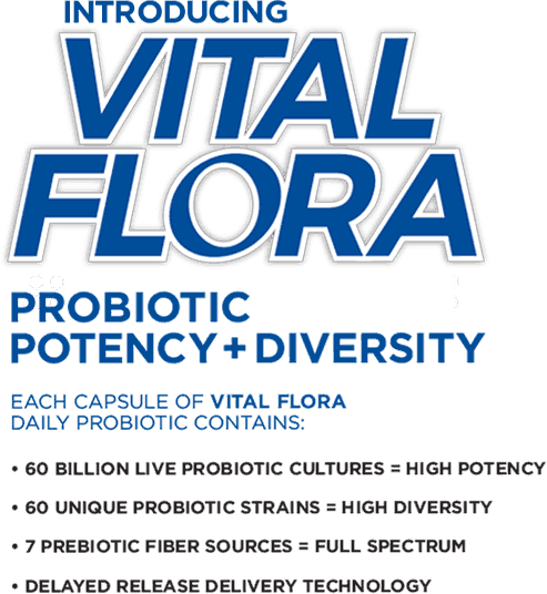 Vital Flora Probiotic Products