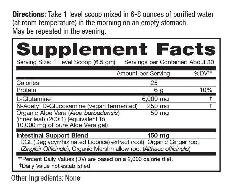 VitalFlora Gut Renew ingredients