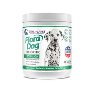 Flora Dog 20 Billion Probiotic Powder