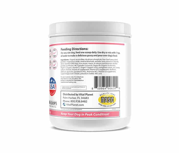 Vital Dog Multi-Vitamin Powder rs
