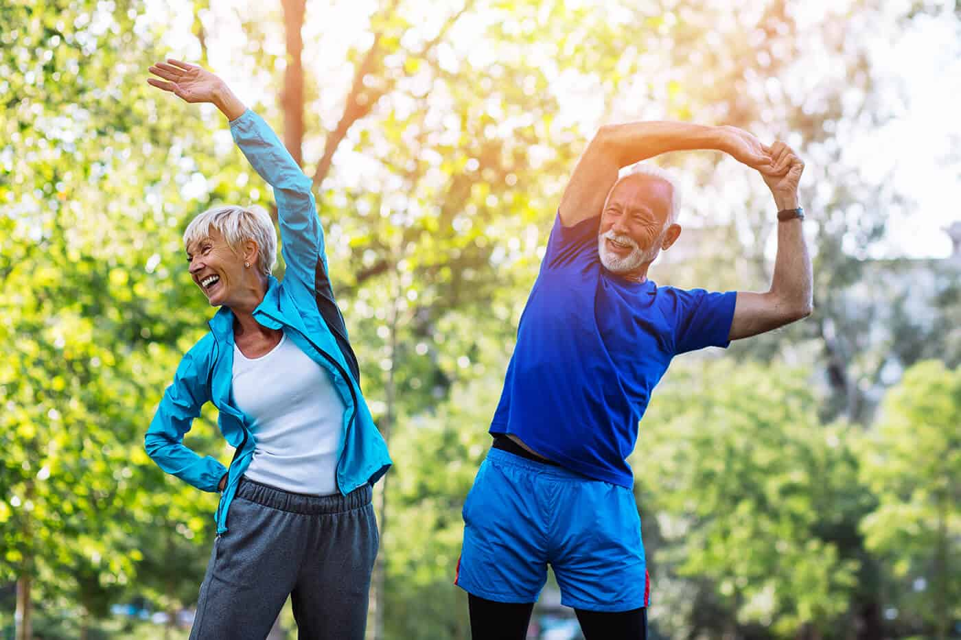 Vital Planet healthy life style - exercising
